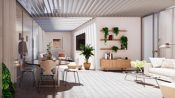 promoción de viviendas en Huelva